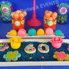 woo 60! candy buffet
