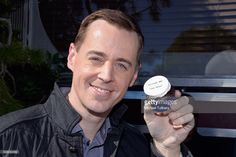 Actor Sean Murray attends the cake cutting celebration for 'NCIS' 300th episode on February 9, 2016 in Valencia, California. Valencia California, Sean Murray, Ncis Cast, February 9, Aidan Turner, Favorite Tv Shows, Washington, Celebration, Characters