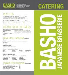 Box Lunch Menu Template | Customize Lunch Catering Menu | FOOD ...
