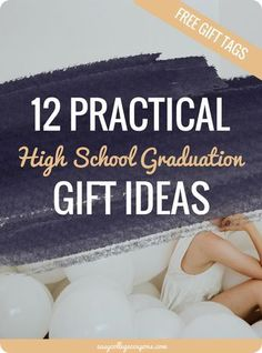 High School Graduation Gift Ideas For Girls, For Boys | Unique for Friends, For Daughters, For Guys via @esycoupons