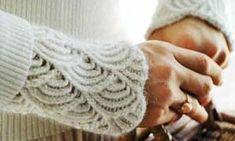 Расширяем любимые тесные вещи - Модная женщина: одежда и вещи для полных Fingerless Gloves, Arm Warmers, Fashion, Fingerless Mitts, Moda, Fingerless Mittens, Fashion Styles, Fashion Illustrations, Fashion Models