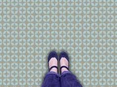 lino flooring in modern styles funky retro - Google Search