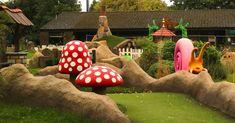 Enchanted Village Bromley Adventure Golf built by ROCKARTuk Limited