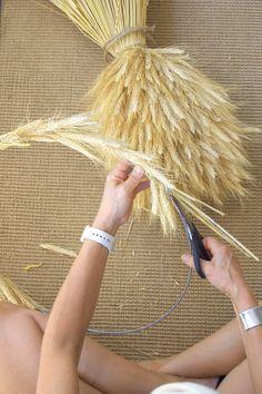 Wheat Wreath DIY The Art of Doing Stuff