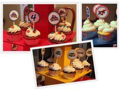 Superhero Cupcake Topper Printables