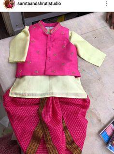 Baby Boy Dress, Baby Dresses, Mom Daughter, Daughters, Kids Wear Boys, Kids Ethnic Wear, Blouse Designs, Dress Designs, Half Saree