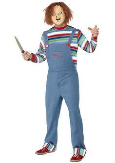 Strój laleczki Chucky - prawdziwa gratka dla fanów starych, dobrych horrorów