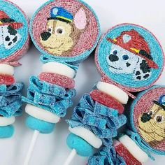 Paw patrol! Party ideas. 🐾 #CandyBobs . . . . . . #foodpic #foodpics #dessert #desserttable #instadessert #instagood #instacandy #instafood #igdaily… Candy Table, Dessert Table, Sweets From Heaven, Birthday Ideas, Birthday Parties, Bob S, Paw Patrol Birthday, Food Pictures, Projects To Try