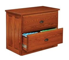 Amish Holmes Lateral File Cabinet Holmes Office Collection Anyone looking for fully functional office furniture that will communicate professionalism and durability will be pleased with the Solid wood filing cabinet. Modern Home Office Furniture, Office Furniture Design, Office Decor, Amish Furniture, Furniture Making, Home Furniture, Oak Plywood, Comfortable Office Chair, Lateral File