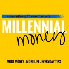 ~~pinned from site directly~~ . . . Smart money moves in your 20's