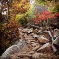 Elk mountain hiking trail. Lawton, Oklahoma