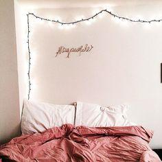 Cozy pink bedroom