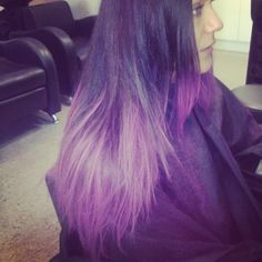 #kevinmurphy #colorbug #purple #hair #chalk #bright #fashion #colours