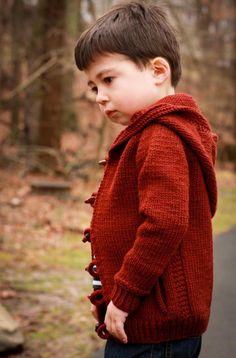Cartero Kids Jacket Knitting pattern by Kristen Jancuk