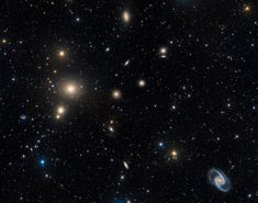 The Fornax Cluster of Galaxies   Image Credit & Copyright: Marco Lorenzi