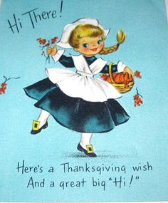 Cute Thanksgiving Card