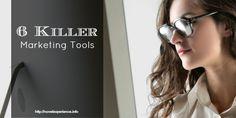 A blogger's guide to marketing software - 6 killer marketing tools http://novelexperience.info/6-killer-marketing-tools/
