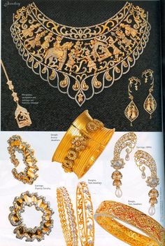 gold indian bridal jewellery