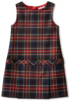 Dolce & Gabbana Kids Back to School Plaid Drop Waist Dress (Toddler/Little Kids) {affiliate} Adrette Outfits, Preppy Outfits, Kids Outfits, Toddler Dress, Baby Dress, School Uniform Fashion, Moda Kids, Dolce And Gabbana Kids, Red And Black Plaid