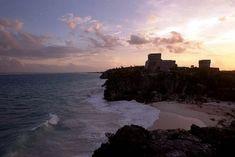 Las ruinas costeras de Tulum en México