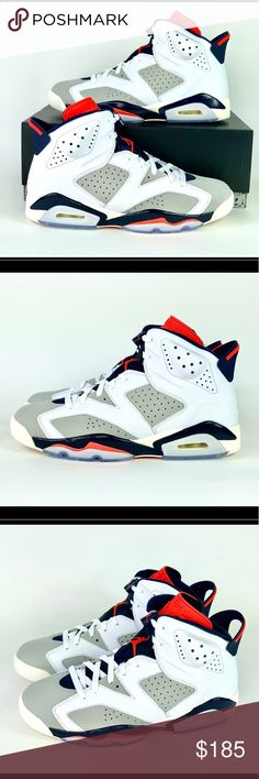the latest 7c92e 7f4bf Nike Air Jordan Retro VI  Tinker  Brand New Nike Air Jordan Retro VI