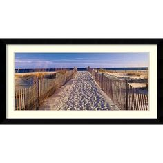 Amanti Art 'Pathway to the Beach' by Joseph Sohm Framed Photographic Print