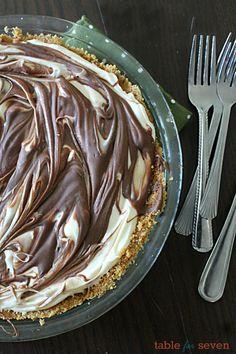 No Bake S'mores Cheesecake • Table for Seven
