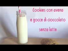 Cookies con avena e gocce di cioccolato senza latte - www.ilcaffedellemamme.it