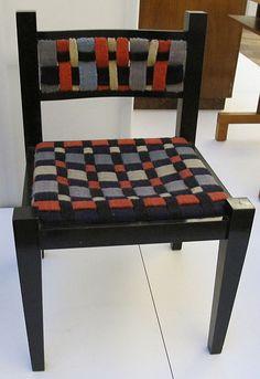 Gunta Stölzl textiles on a Marcel Breuer chair (1922)
