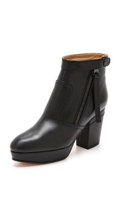 Acne Studios Track Platform Booties // if only...