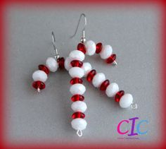 Use big black and red beads and add a loop on top