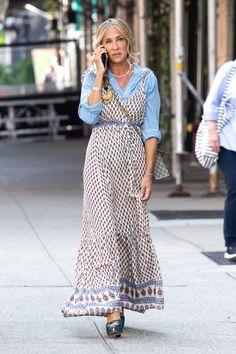 Sarah Jessica Parker, Fendi, Gucci, Carrie Bradshaw Estilo, Boho, Balenciaga, Fast Fashion Brands, And Just Like That, City Style