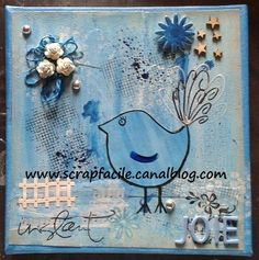 oiseau bleu Scrap, Photos, Snoopy, Fictional Characters, Art, Art Background, Scrap Material, Kunst, Performing Arts