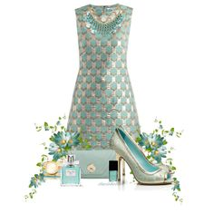 Golden Mint by staciegh on Polyvore