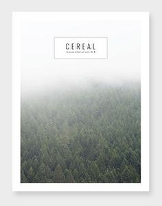 Cereal magazine, Forest - Limited Edition 2013 |Magazine Cover: Graphic Design, Typography, Photography |