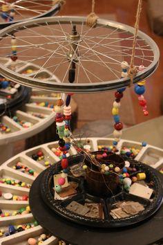 Hopes and Dreams Display | Reggio Inspired Classroom | Loose Parts