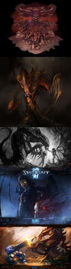Kerrigan & Hydralisk - Starcraft and the Zerg's were my life growing up!!!
