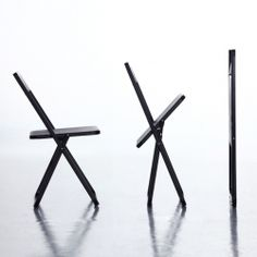 'Slim' is possibly the thinnest folding chair in the world. 2011 iF Gold Award winner by Shiang Ye Ind., Taiwan.
