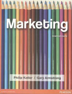 "Kotler, Philip. ""Marketing"" 14ª ed. 3 ejemplares"