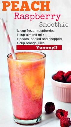Low fat, low energy peach and raspberry smoothie to . - Low fat, low energy peach and raspberry smoothie to . Charlyxx Backen Low fat, low energy peach and raspberry smoothie to . Yummy Drinks, Healthy Drinks, Healthy Snacks, Healthy Eating, Healthy Recipes, Healthy Habits, Food And Drinks, Healthy Iced Coffee, Ninja Blender Recipes