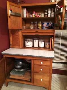 Looks like mine! Hoosier Cabinet, Liquor Cabinet, Homemaking, Cabinets, Storage, Furniture, Home Decor, Armoires, Purse Storage