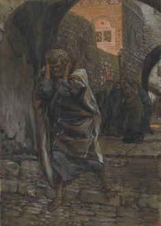 James Tissot - La douleur de Saint Pierre