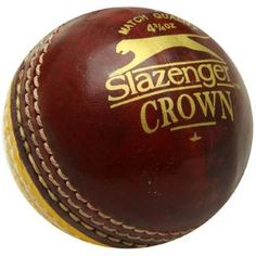 Slazenger Crown Cricket Ball £2 #cricket #cricketball Lillywhites.com