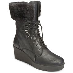 948a4e2ebf0a A2 by Aerosoles Color Range Women s Wedge Winter Boots ( 120) ❤ liked on  Polyvore · Wide Width ShoesBlack ...