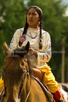Indian Reservation | ... in Native Days Parade at Crow Agency Montana, Crow Indian Reservation