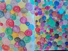 Des petits ronds par Emily Hawkes