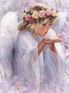 Angeli Glitter » Angeli animate glitter grafica immagini angioletti ...