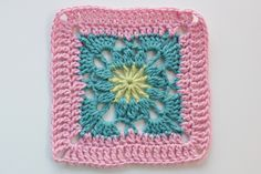 Square 81 from Leisure Arts 99 Granny Squares to Crochet