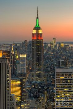 Top of the Rock Twilight  - Clarence Holmes