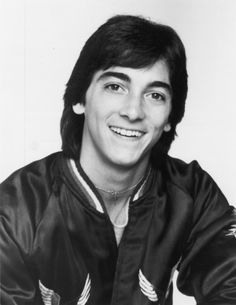 Scott Baio is basically my sweetheart. Oh, Chachi, Chachi, Chachi!